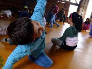 ioga crianças