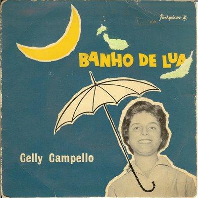 1960 - Banho de lua disco - Celly Campello